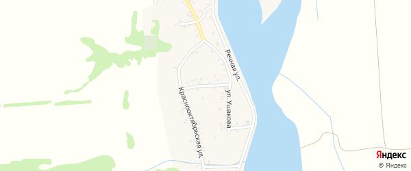 Первомайская улица на карте аула Ходзь с номерами домов