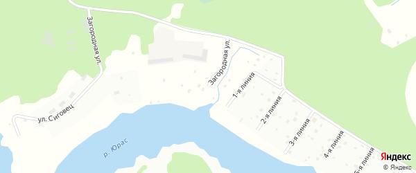 Загородная улица на карте Архангельска с номерами домов
