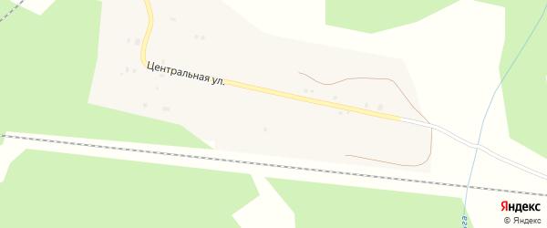Магистральный переулок на карте поселка Норменги с номерами домов