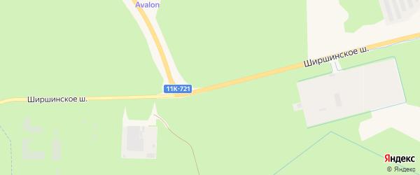 Ширшинское шоссе на карте Новодвинска с номерами домов