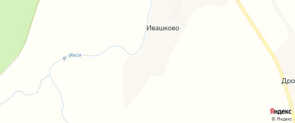 Кедровая улица на карте деревни Ивашково с номерами домов