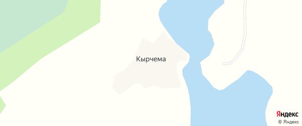 Улица Мира на карте деревни Кырчема с номерами домов