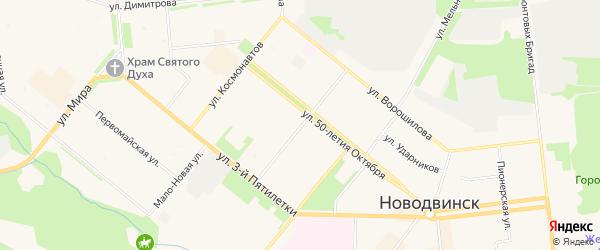 ГСК Стрела на карте улицы Ломоносова с номерами домов