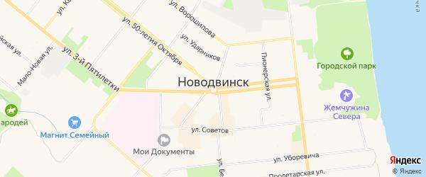 ГСК Гамма на карте Ширшинского шоссе с номерами домов
