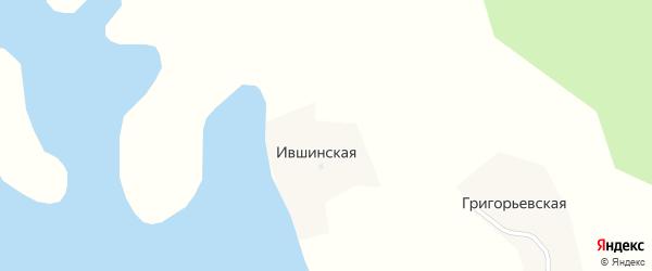 Озерная улица на карте Ившинской деревни с номерами домов