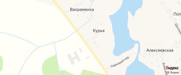 Трудовая улица на карте деревни Вахрамеихи с номерами домов