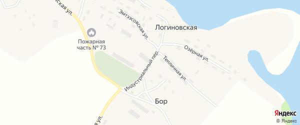 Зеленая улица на карте деревни Корехино с номерами домов