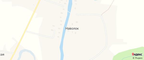 Торговая улица на карте деревни Наволока с номерами домов
