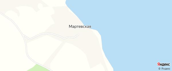 Речная улица на карте Юдинской деревни с номерами домов