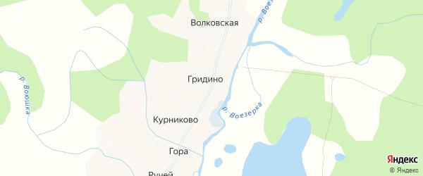 Карта деревни Низа в Архангельской области с улицами и номерами домов