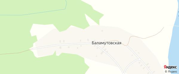 Новая улица на карте Титовской деревни с номерами домов