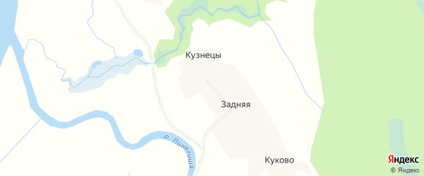 Карта деревни Кузнецы в Архангельской области с улицами и номерами домов