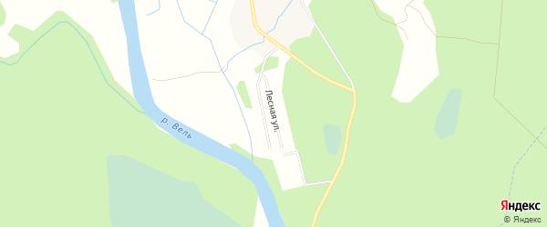 Карта садового некоммерческого товарищества Сота Ключи в Архангельской области с улицами и номерами домов