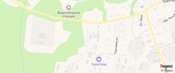 5-я Пристанционная улица на карте Вельска с номерами домов