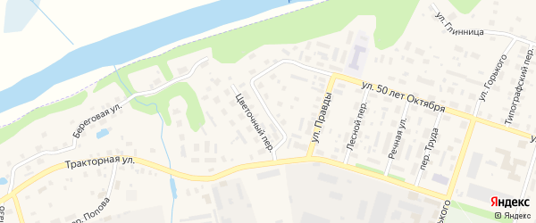 Чудьской переулок на карте Вельска с номерами домов