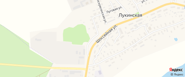 Покровская улица на карте Лукинской деревни с номерами домов