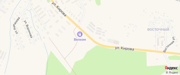 Улица Кирова на карте Вельска с номерами домов