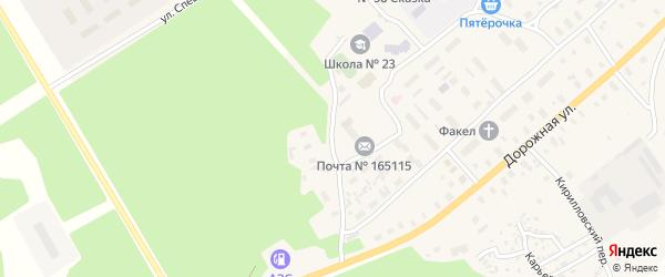Владимирская улица на карте Горка-Муравьевская деревни с номерами домов
