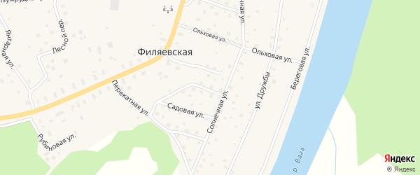 Березовая улица на карте садового некоммерческого товарищества Строителя сада N3 с номерами домов