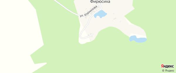 Улица 8 Марта на карте поселка Фирюсихи с номерами домов