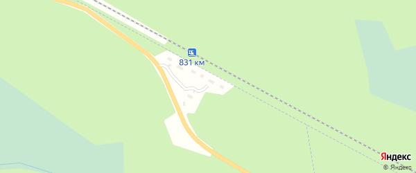 Территория Промплощадка Вага на карте Вельска с номерами домов