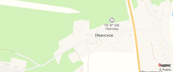 Улица Вельская РТС на карте поселка Иванского с номерами домов