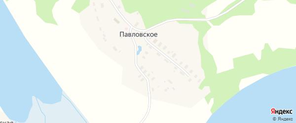 Лесной переулок на карте Павловского села с номерами домов