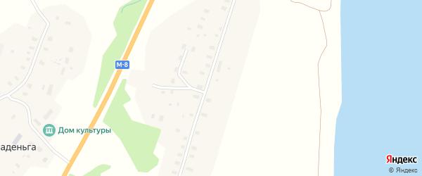 Улица Новостроек на карте деревни Усть-паденьги с номерами домов