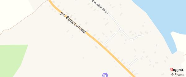 Улица Волосатова на карте Шипуновской деревни с номерами домов