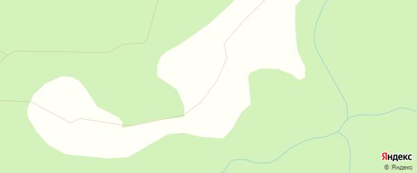 Карта Глубоковской деревни в Архангельской области с улицами и номерами домов