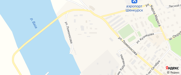 Квартал Энергетиков на карте Шенкурска с номерами домов