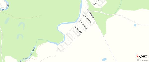 СНТ Нива на карте Балашова с номерами домов