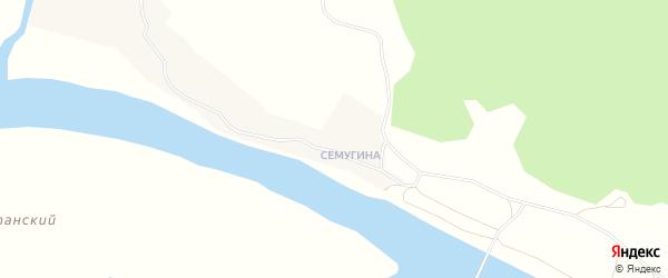 Карта деревни Кулогоры в Архангельской области с улицами и номерами домов