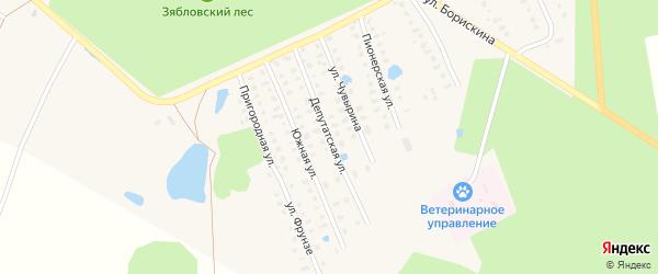 Депутатская улица на карте Первомайска с номерами домов