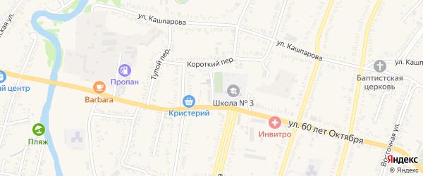 1 Мая площадь на карте Зеленокумска с номерами домов