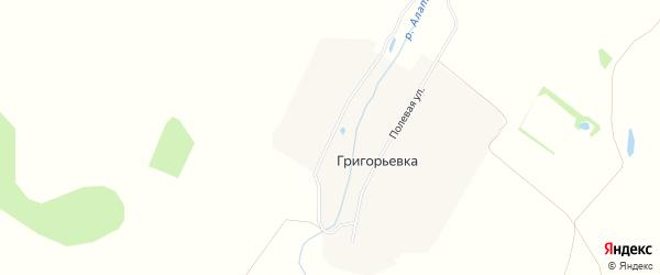 Карта деревни Цыгановки города Первомайска в Нижегородской области с улицами и номерами домов