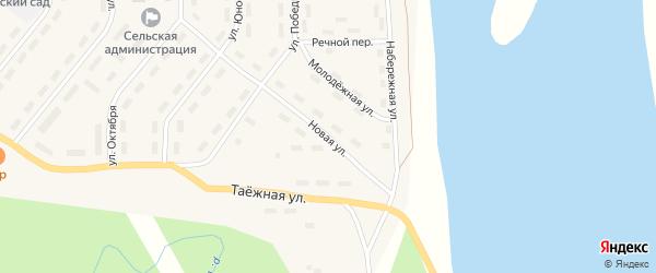 Новая улица на карте Ясного поселка с номерами домов