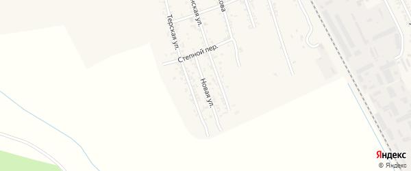 Новая улица на карте Терека с номерами домов