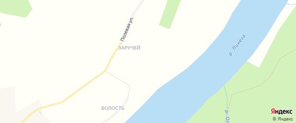 Карта деревни Шотогорки в Архангельской области с улицами и номерами домов