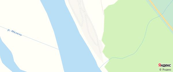 Карта деревни Тимощелья в Архангельской области с улицами и номерами домов