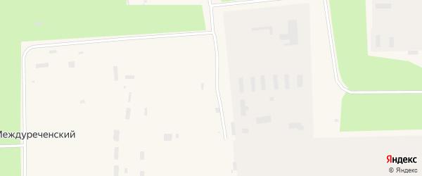 Улица Дзержинского на карте Междуреченского поселка с номерами домов