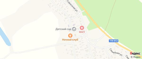 Улица Гагарина на карте деревни Ваймуши с номерами домов