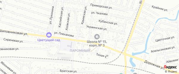 Улица Плеханова на карте Волжского с номерами домов