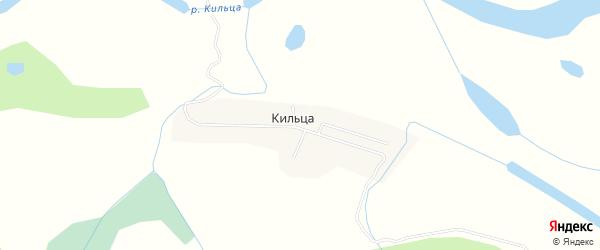 Карта деревни Кильцы в Архангельской области с улицами и номерами домов