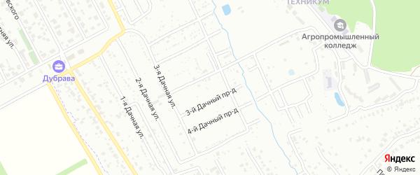 Территория сдт Казенный сад на карте Пензы с номерами домов