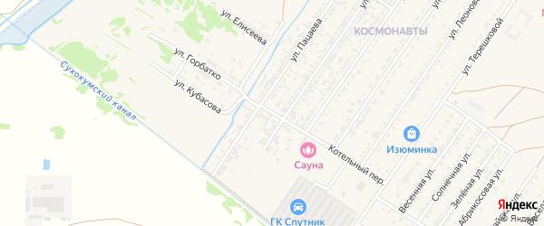 Котельный переулок на карте Нефтекумска с номерами домов