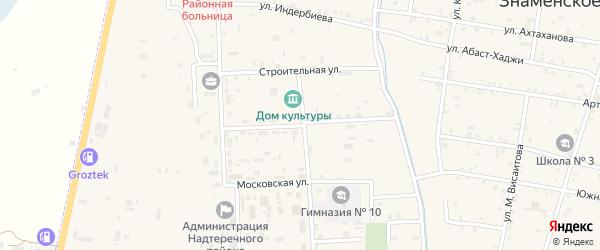 Улица Энтузиастов на карте Гвардейского села с номерами домов
