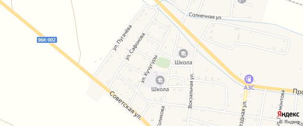 Улица Кучугуры на карте Ищерской станицы с номерами домов