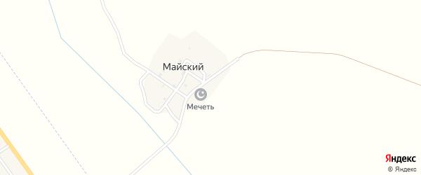 Майский поселок на карте Майского поселка с номерами домов