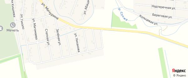 Улица Арсамакова на карте Серноводского села с номерами домов